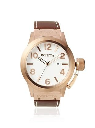 Invicta Men's 1137 Corduba Brown/White Leather Watch