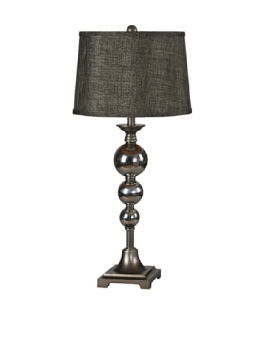 Rossano Table Lamp, Pewter
