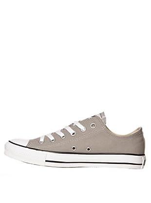 Converse Chuch Taylor All Star Ox - Zapatillas de lona unisex (gris)