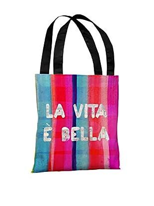 Oliver Gal La Vita Bella Tote Bag, Multi