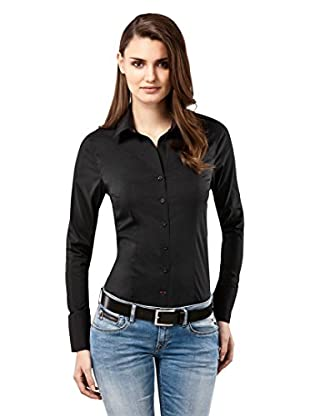 Vincenzo Boretti Camisa Mujer Slim-Fit, Uni - Easy Iron