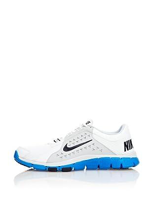 Nike Zapatillas Nike Flex Supreme Tr (Blanco / Azul / Negro)
