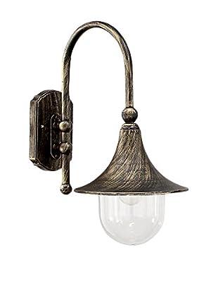 Evergreen Lights Lámpara De Pared Outdoor Negro/Oro