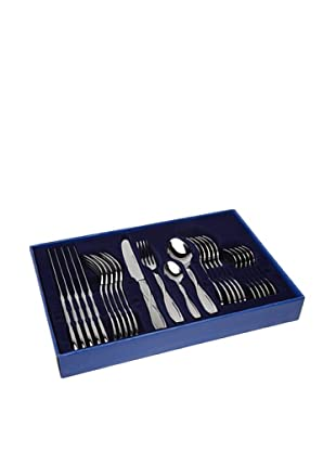 BergHOFF 24-Piece Florence Polished Flatware Set, Silver