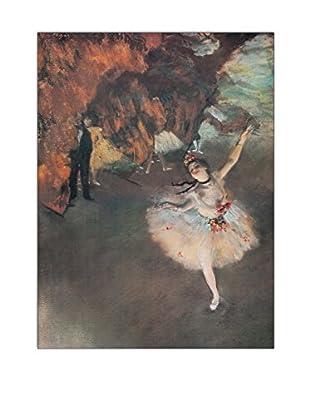 ArtopWeb Panel de Madera Degas The Star 80x60 cm