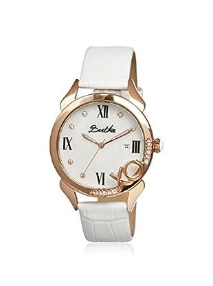 Bertha Women's BR2306 XO White Leather Watch
