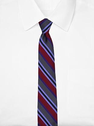 Ben Sherman Men's Elton Stripe Tie, Red