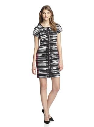 Marc New York Women's Short Sleeve Shift Dress (Multi)