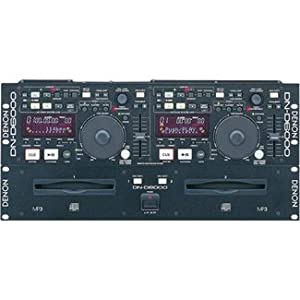 Denon Professional Dual CD/MP3 Player DN-D6000