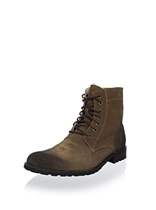 Bacco Bucci Men's Clarence Shearling Boot (Brown)