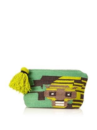 Meredith Wendell Women's Digi Tiger Pouch, Green