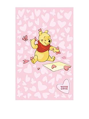 Abc Alfombra Comfort Line Pink Hearts Rosa 100 x 150 cm