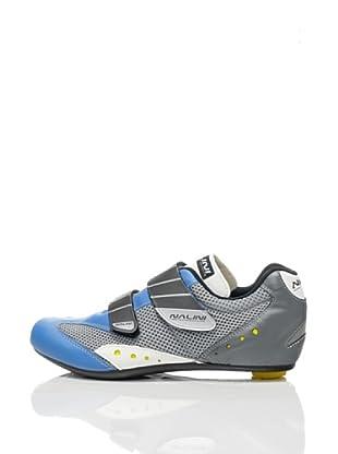 Nalini Zapatillas para Ciclismo Blacksoul (Plata / Azul)