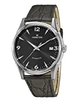 Hamilton Men's H38715731 Timeless Class Black Dial Watch