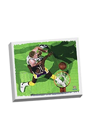 Steiner Sports Memorabilia Larry Bird & Magic Johnson Stretched Canvas