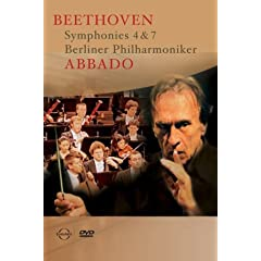 Abbado / Beethoven : Symphonies 4 &amp; 7 [DVD] [Import]