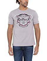 RATTRAP Men Round Neck Cotton T-SHIRT 8903462241160