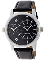 Giordano Analog Black Dial Men's Watch - 60056 DTL (P3052)