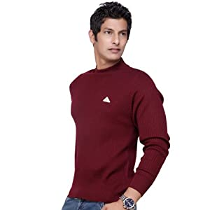 Monte Carlo Full Sleeves Wool Men Pullovers