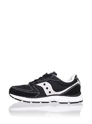 Saucony Kid's B Mod O Sneaker (Big Kid) (Black/Grey)