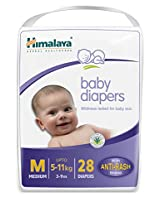 Himalaya Baby Medium Size Diapers (28 count)