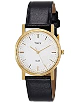 Timex Classics Analog White Dial Men's Watch - A300