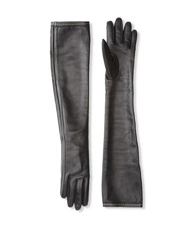 JIL SANDER Women's Long Gloves (Black)