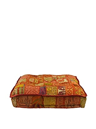 Melange Home Yoga Pillow, Medium, Masala Chai