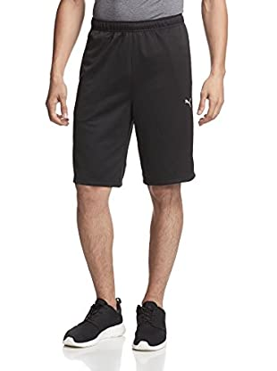 PUMA Men's 10 Inch Formstripe Short (Black/White)