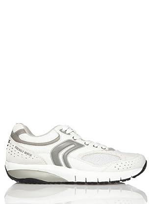 Geox Zapatillas Hayden (blanco / gris)