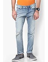 Blue Scanton Tudst Slim Fit Jeans