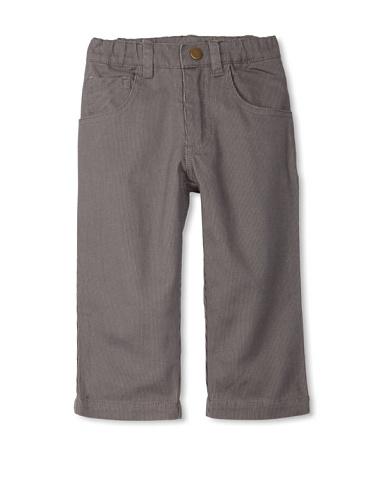miniMONSTER Baby Boy's Elastic Waist Pants (Grey)