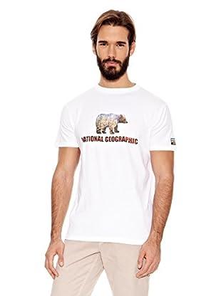 National Geographic Camiseta Bear (Blanco)