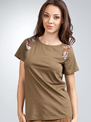 Mango Camiseta (Verde oliva)