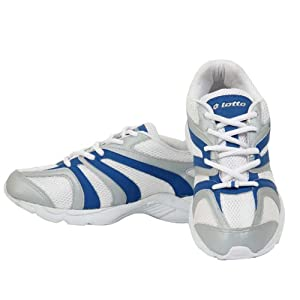 Lotto Men's Navigator Running Shoes - White and Blue