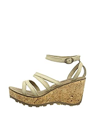 Fly London Sandalias Gomm (Beige)
