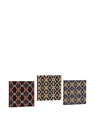 Dekorjinal Set, 3-teilig dekoratives Bild Ahm011 (mehrfarbig)