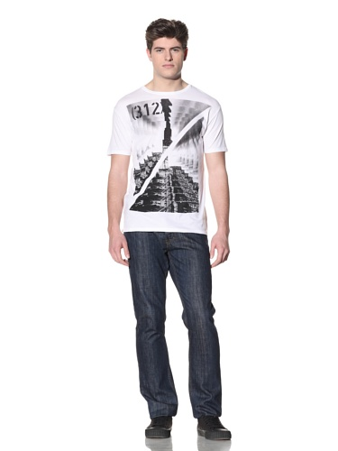 MG Black Label Men's Chicago T-Shirt (White)