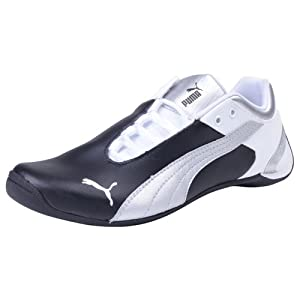Puma Kids Future Cat M2 Jr Black Puma Silver Sports Shoes