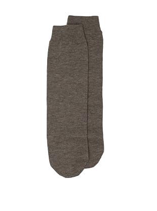 a&R Cashmere Tube Socks (Sand)