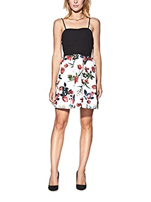 Candy Abito Tulip Style Mini With Floral Print