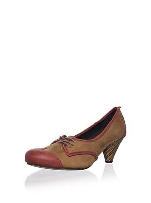 J. Shoes Women's Gladis 2 Pump (Mid Brown/Paprika)