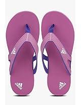 Calo 5 Purple Flip Flops Adidas