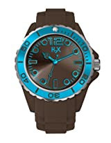 H2X Reef Gent Analog Brown Dial Men's watch - SM382UM2