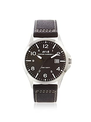 AVI-8 Men's SET1-05 Hawker Hurricane Black Watch & Wallet Set