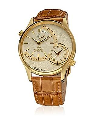 August Steiner Reloj de cuarzo Man AS8010YG Camel 41.5 mm