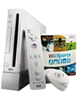 Nintendo Wii Console (White) (Free Games: 5-in-1 Sports Game Pack)