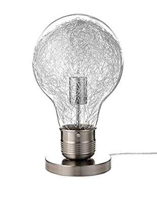Contemporary Living Tischlampe Light Bulb grau