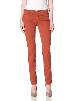 Milk Denim Women's Skinny Jean (Rust)