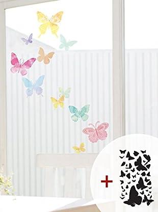 Ambiance Sticker Wandtattoo Artistic Butterflies